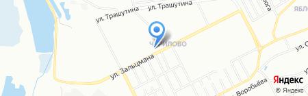 Суши Клуб на карте Челябинска