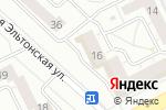 Схема проезда до компании КЛЕВЕР в Челябинске