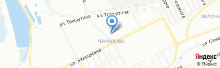 Silk Plaster на карте Челябинска