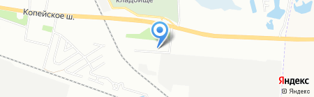 Магазин №65 на карте Челябинска