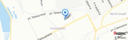 Детский сад №32 на карте Челябинска
