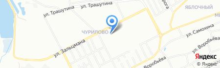 Детский сад №367 на карте Челябинска