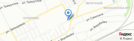 Тургояк на карте Челябинска
