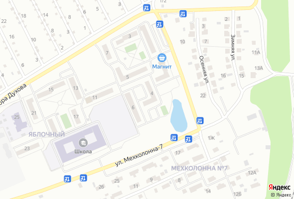 жилой комплекс Яблочный