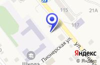 Схема проезда до компании МАГАЗИН РАССВЕТ в Кунашаке