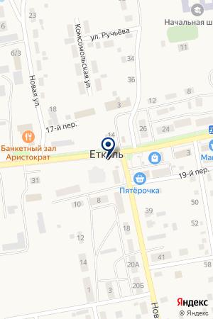 БИБЛИОТЕКА Д.ПОГОРЕЛКА (ФИЛИАЛ N 23) на карте Еткуля