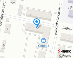 Схема местоположения почтового отделения 624282