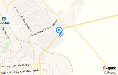 Местоположение на карте пункта техосмотра по адресу Челябинская обл, г Троицк
