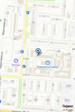 МЕБЕЛЬНЫЙ САЛОН PUFICO (ПУФИКО) на карте Копейска