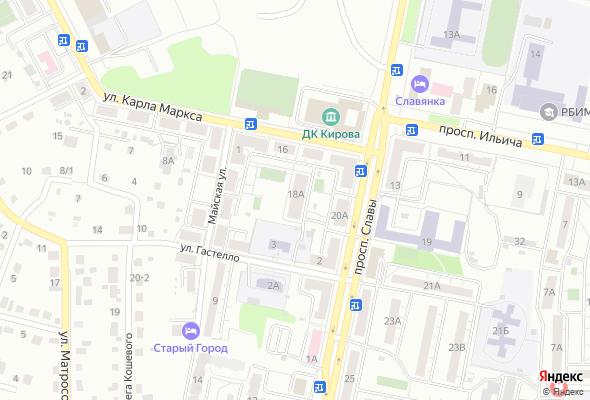 купить квартиру в ЖК по ул.  Карла Маркса, 18А
