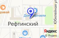 Схема проезда до компании ТОРГОВЫЙ КОМПЛЕКС МОЛОДЕЖНЫЙ в Рефтинском