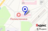 Схема проезда до компании ГОРОДСКАЯ БОЛЬНИЦА в Рефтинском