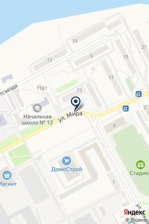 ЯЛУНИНСКИЙ ДОМ КУЛЬТУРЫ на карте Алапаевска