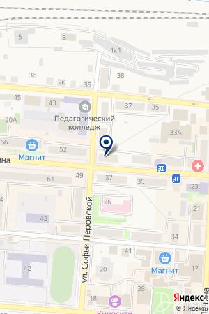 МАГАЗИН ЦВЕТОВ ОРХИДЕЯ на карте Алапаевска