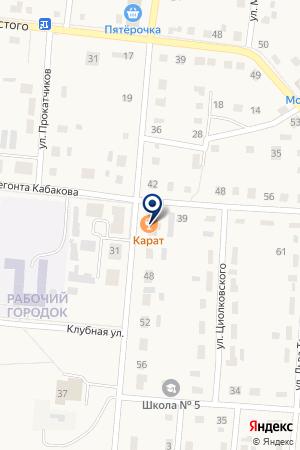 МАГАЗИН ЮБИЛЕЙНЫЙ на карте Алапаевска