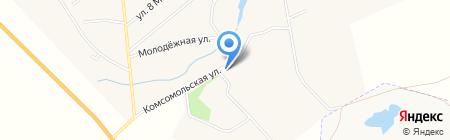 Продуктовый магазин на Комсомольской на карте Черкасово
