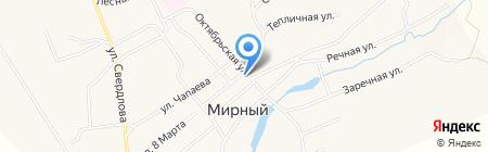 Жилищно-коммунальное хозяйство Козыревское на карте Черкасово