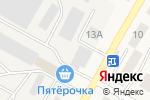 Схема проезда до компании АйКнопка в Позарихе