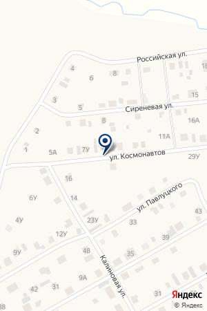 АДМИНИСТРАЦИЯ ЛАЗУРНЕНСКОГО СЕЛЬСКОГО ПОСЕЛЕНИЯ на карте Миасского