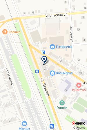 МАГАЗИН СИЛУЭТ на карте Артемовского