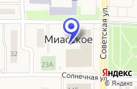 Схема проезда до компании ДОМ КУЛЬТУРЫ СЕЛА БРОДОКАЛМАК в Миасском