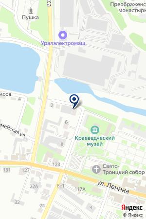 ИНТЕРНЕТ-МАГАЗИН EXIST.RU (ЭКЗИСТ.РУ) на карте Каменска-Уральского