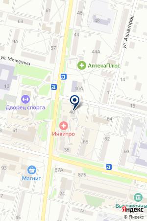 САЛОН ИСКУССТВЕННЫЕ ЦВЕТЫ на карте Каменска-Уральского