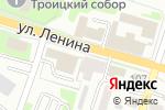 Схема проезда до компании Вираж в Каменске-Уральском
