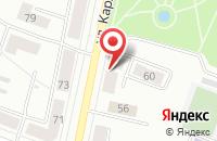 Схема проезда до компании Улыбка в Каменске-Уральском