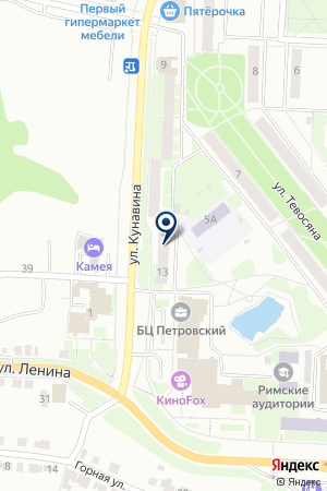 БАНКОМАТ СКБ-БАНК на карте Каменска-Уральского