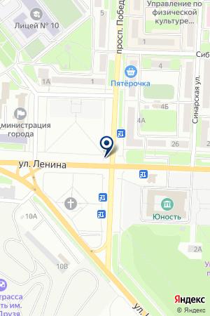 AVANT (АВАНТ) на карте Каменска-Уральского