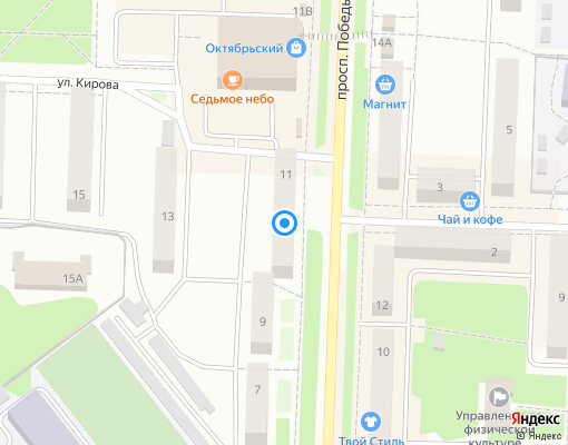 Управляющая компания «Дирекция единого заказчика» на карте Каменск-Уральского