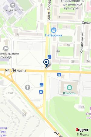 EXPERT ГРУЗОПЕРЕВОЗКИ (ЭКСПЕРТ) на карте Каменска-Уральского