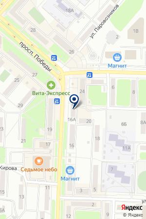 КОМПЛЕКС РИТУАЛЬНЫХ УСЛУГ GABBRO (ГАББРО) (ФИЛИАЛ) на карте Каменска-Уральского