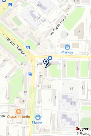 МАГАЗИН ДЕТСКИЙ на карте Каменска-Уральского