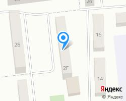 Схема местоположения почтового отделения 623784