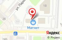 Схема проезда до компании Магнит в Каменске-Уральском