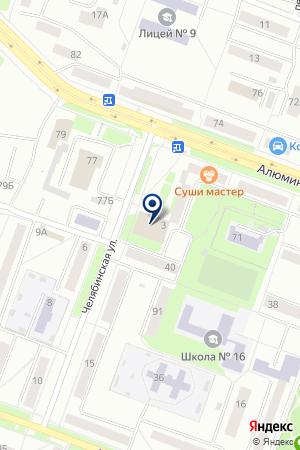 СУПЕРМАРКЕТ КИРОВСКИЙ на карте Каменска-Уральского