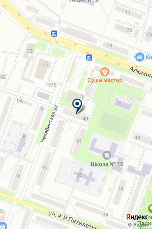 МАГАЗИН LADA (ЛАДА) на карте Каменска-Уральского