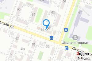 Двухкомнатная квартира в Каменске-Уральском Октябрьская улица, 82