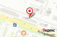 Схема проезда до компании ТВ-Сервис в Каменске-Уральском