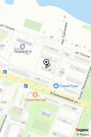 ТЕХСТРОЙМОНТАЖ ТСМ на карте Каменска-Уральского
