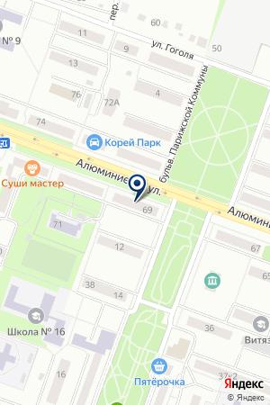 МАГАЗИН NIKE (НАЙК) на карте Каменска-Уральского