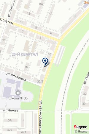 РОС-НТ на карте Каменска-Уральского