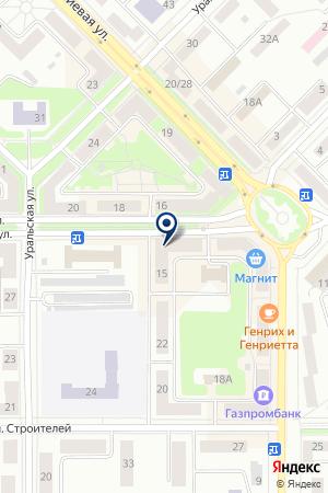 ФИРМЕННЫЙ МАГАЗИН LG (ЭЛ ДЖИ) на карте Каменска-Уральского