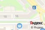 Схема проезда до компании Котофей в Каменске-Уральском