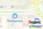 Схема проезда до компании Наш сад в Каменске-Уральском