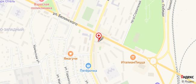 Карта расположения пункта доставки 220 вольт в городе Сухой Лог