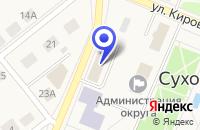 Схема проезда до компании ТОРГОВЫЙ ЦЕНТР СЕМЕЙНЫЙ в Сухом Логе