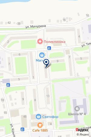 МАГАЗИН ТРОН-2 на карте Богдановича